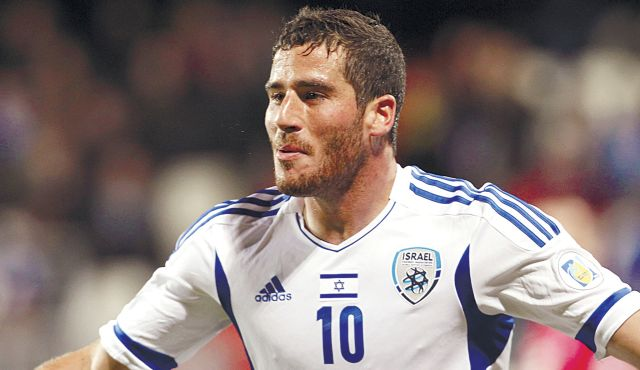 Israel National Football Team Player Tomer Hemed