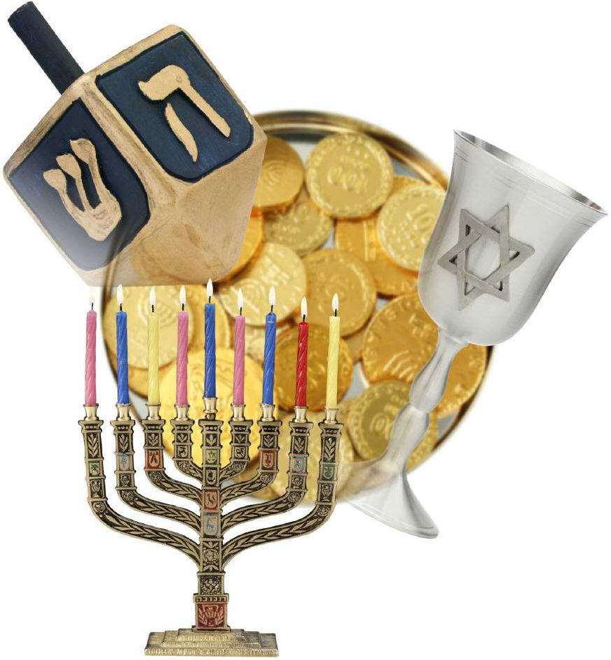 Hanukkah greetings: happy Chanukah in Hebrew