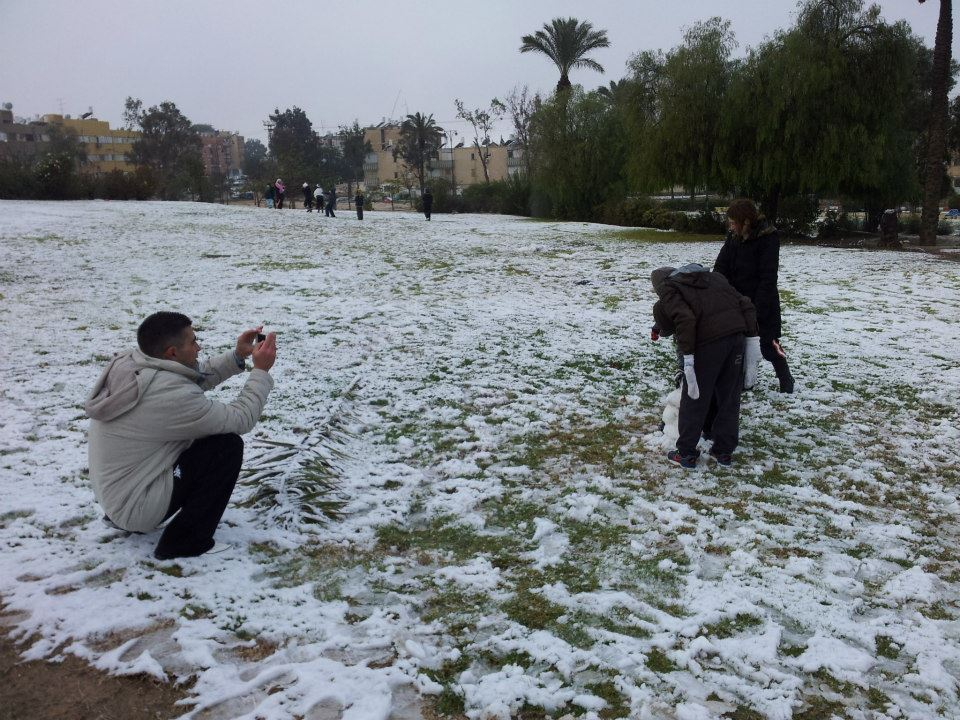 Israelis, please meet Mr. Snow.