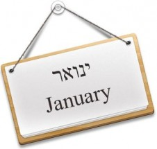 Hebrew Months of the Year