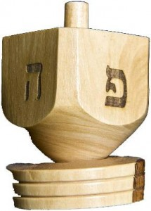 spin the dreidel hanukkah traditions