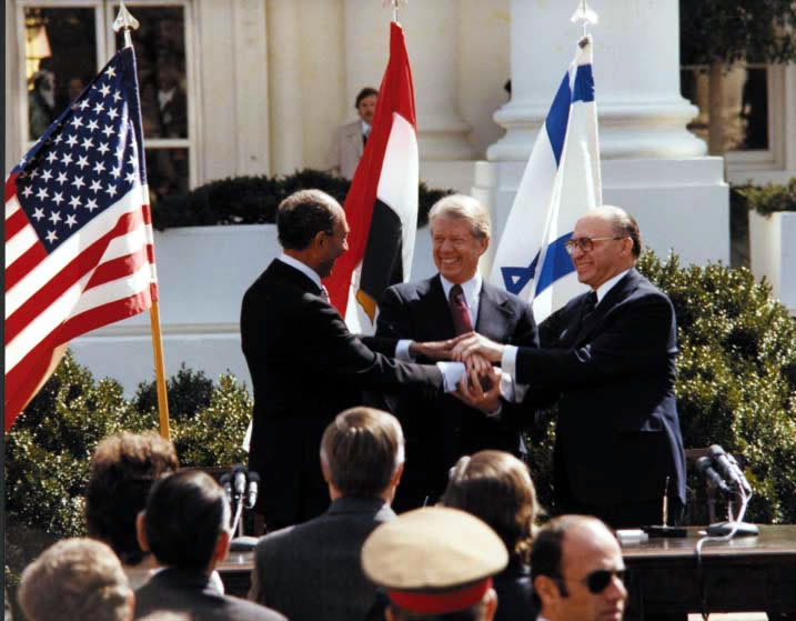 Israel foreign relations (peace treaty with Egypt)