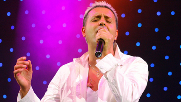 Kobi Peretz Concert in Ramat Gan on Israel Day of Independence